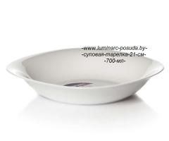 CARINE WHITE тарелка суповая 21 см