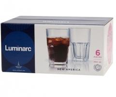 NEW AMERICA набор стаканов высоких 350 мл. 6 шт.