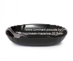 LOTUSIA BLACK суповая тарелка 20.5 см