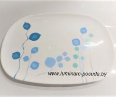 MISTY BLUE блюдо прямоугольное 35х25 см