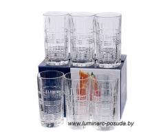 DALLAS (ДАЛЛАС) набор стаканов высоких 380 мл. 6 шт.