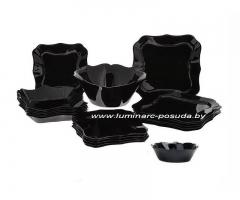 AUTHENTIC BLACK 25 предметов с салатниками Ø 16 см
