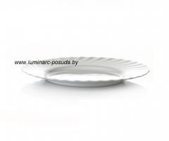 TRIANON WHITE тарелка обеденная 24,5 см