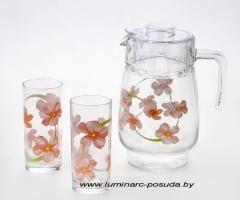 SWEET IMPRESSION стаканы + кувшин