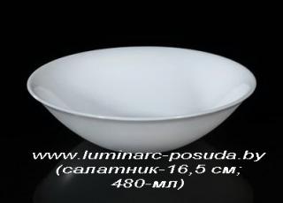 CARINE NEO WHITE 25 предметов с салатниками Ø 16 см