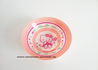 HELLO KITTY NORDIC FLOWER ROSE салатник 16,5 см
