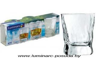 """ICY (""""АЙСИ"""") набор стаканов низких 300 мл. 3 шт."""